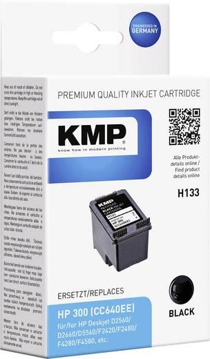 KMP Tinte ersetzt HP 300 Kompatibel Schwarz H133 1710,4811