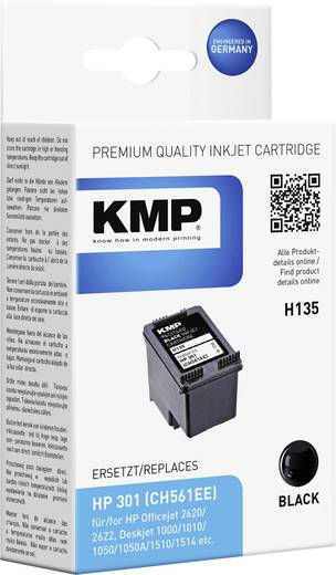 KMP Tinte ersetzt HP 301 Kompatibel Schwarz H135 1719,4801