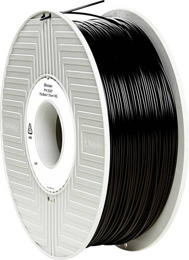 Verbatim 55267 Filament PLA 1.75 mm Schwarz 1 kg