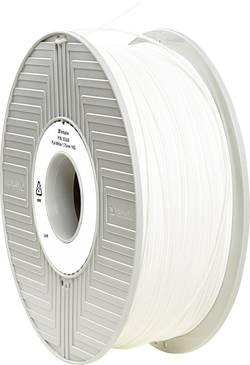 Vlákno pro 3D tiskárny Verbatim 55268, PLA plast, 1.75 mm, 1 kg, bílá