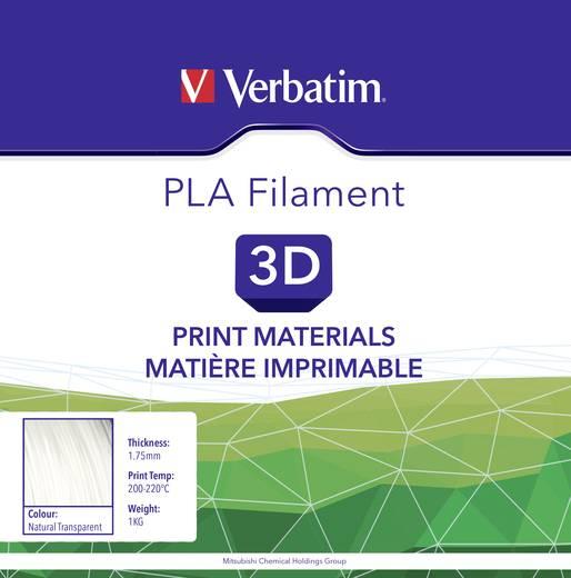 Verbatim 55274 Filament PLA 1.75 mm Transparent 1 kg