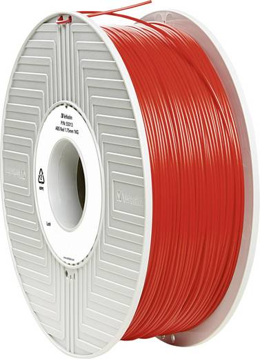 Verbatim 55013 Filament ABS 1.75 mm Rot 1 kg