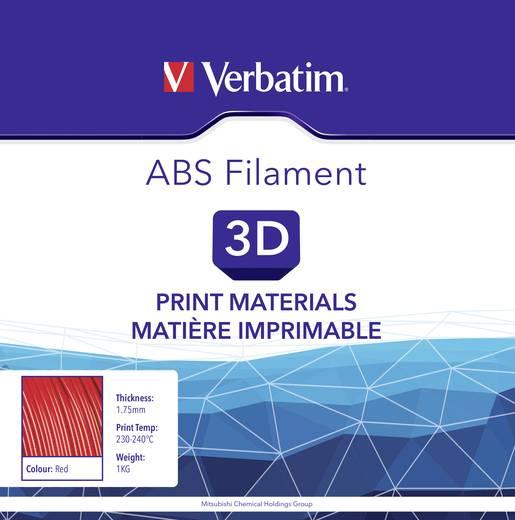 Filament Verbatim 55013 ABS 1.75 mm Rot 1 kg