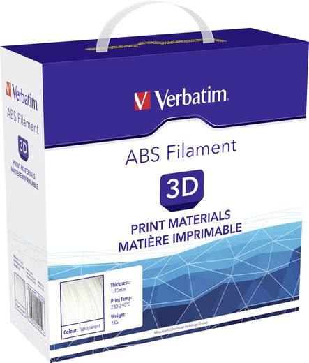 Verbatim 55015 Filament ABS 1.75 mm Transparent 1 kg