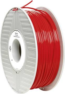 Vlákno pro 3D tiskárny Verbatim 55279, PLA plast, 2.85 mm, 1 kg, červená