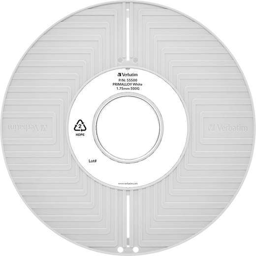 Verbatim 55500 Filament TPE 1.75 mm Weiß 500 g
