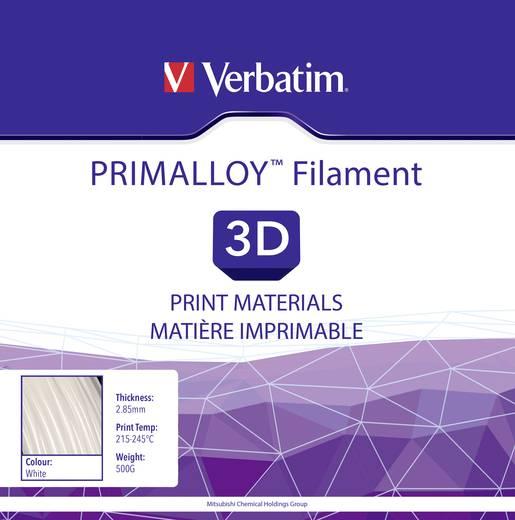 Filament Verbatim 55501 TPE 2.85 mm Weiß 500 g