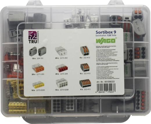 WAGO WA-741-834 Verbindungsklemmen-Sortiment flexibel: 2.5-4 mm² starr: 2.5-4 mm² 120 St.