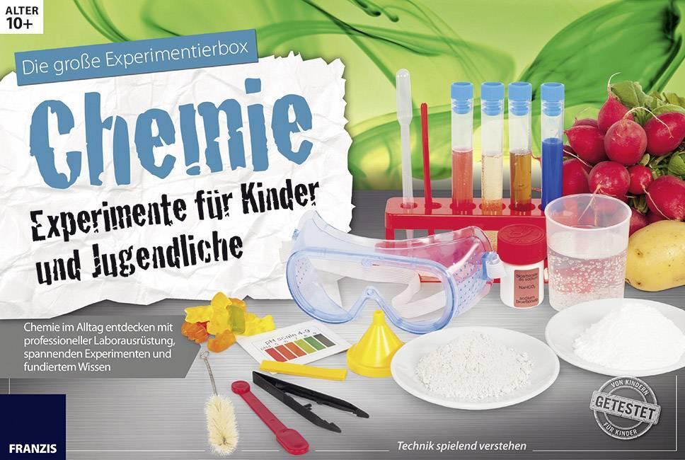 Experimentier set franzis verlag chemie experimente für kinder und