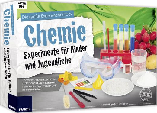 experimentier set franzis verlag chemie experimente f r kinder und jugendliche 978 3 645 65266 7. Black Bedroom Furniture Sets. Home Design Ideas
