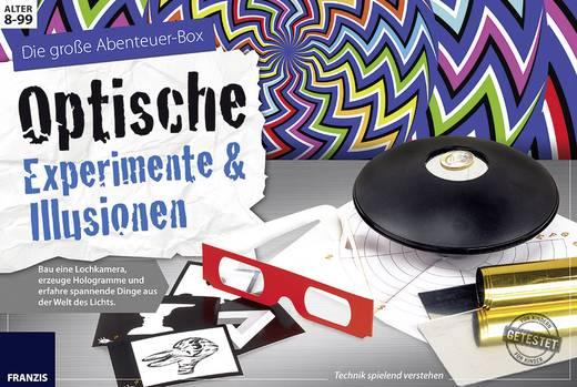 Experimentier-Set Franzis Verlag Optische Experimente & Illusionen 978-3-645-65302-2 ab 8 Jahre
