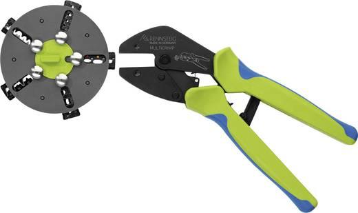 Rennsteig Werkzeuge Multicrimp 629 005 3 Crimpzangen-Set 5teilig Unisolierte Flachsteckverbinder, Isolierte Flachsteckve