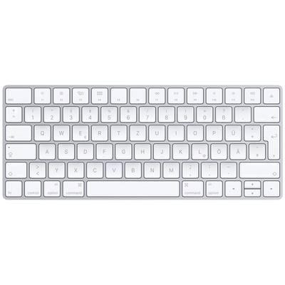 Apple Magic Keyboard Deutsch Bluetooth-Tastatur Silber, Weiß ...