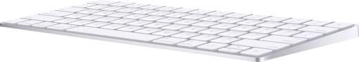 Apple Magic Keyboard Deutsch Bluetooth-Tastatur Silber, Weiß Wiederaufladbar