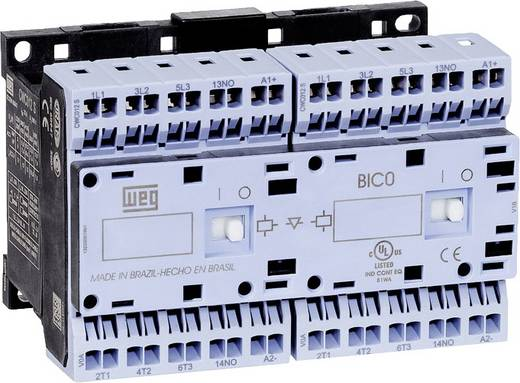 Wendeschütz 1 St. CWCI012-01-30C03S WEG 6 Schließer 5.5 kW 24 V/DC 12 A mit Hilfskontakt