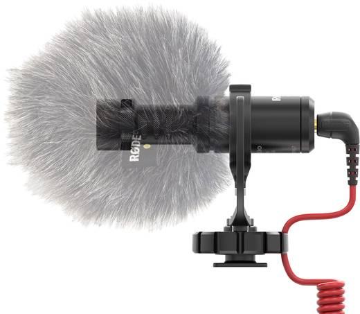 Kamera-Mikrofon RODE Microphones VIDEO MICRO Übertragungsart:Kabelgebunden inkl. Kabel, inkl. Windschutz, Blitzschuh-Mo