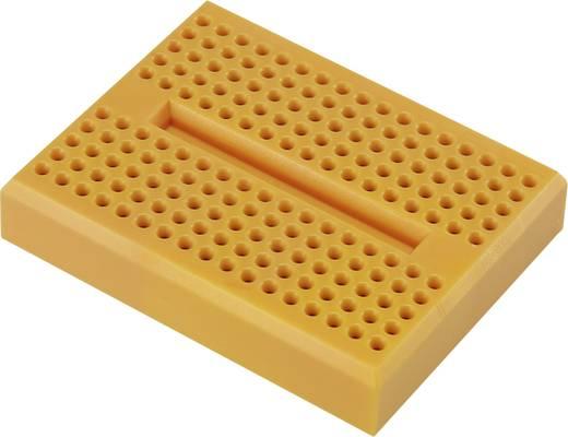 Steckplatine Orange Polzahl Gesamt 170 (L x B x H) 46 x 36 x 8 mm Conrad Components 0165-4219-13-15010 1 St.