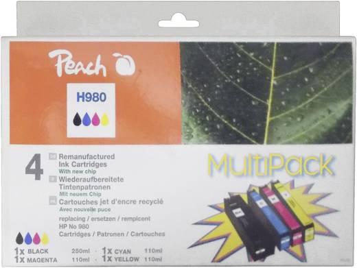 Peach Tinte HP 980 Kombi-Pack Schwarz, Cyan, Magenta, Gelb PI300-517 0F319073