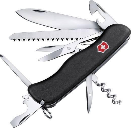 Schweizer Taschenmesser Anzahl Funktionen 14 Victorinox OUTRIDER 0.9023.3 Schwarz