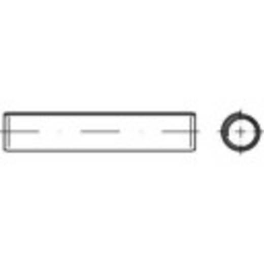 Spiral-Spannstifte (Ø x L) 4 mm x 24 mm Federstahl TOOLCRAFT 500 St.