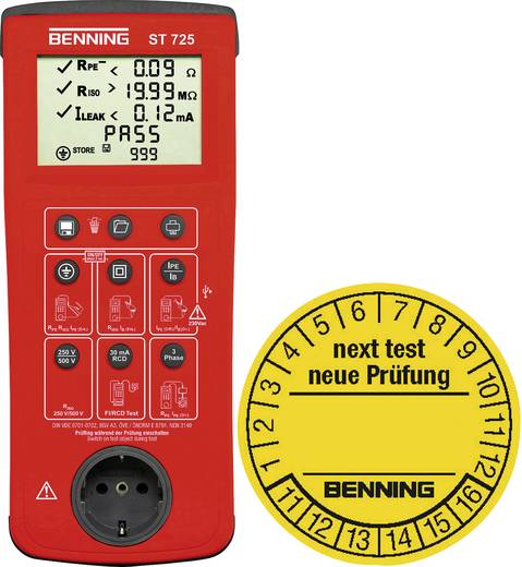 Benning 050316 Gerätetester-Set