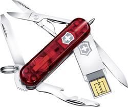 Švýcarský kapesní nůž s USB flash diskem 64 GB Victorinox Midnite Manager, nerezová ocel