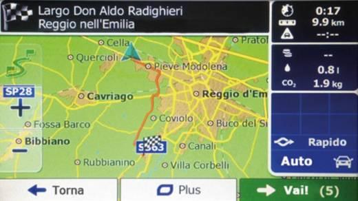Phonocar VM034E Navigationsgerät, Festeinbau Europa Integriertes Navigationssystem