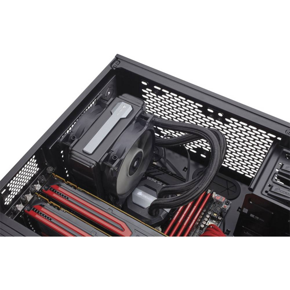 syst me de refroidissement l 39 eau pour pc corsair hydro h80i v2 sur le site internet conrad. Black Bedroom Furniture Sets. Home Design Ideas