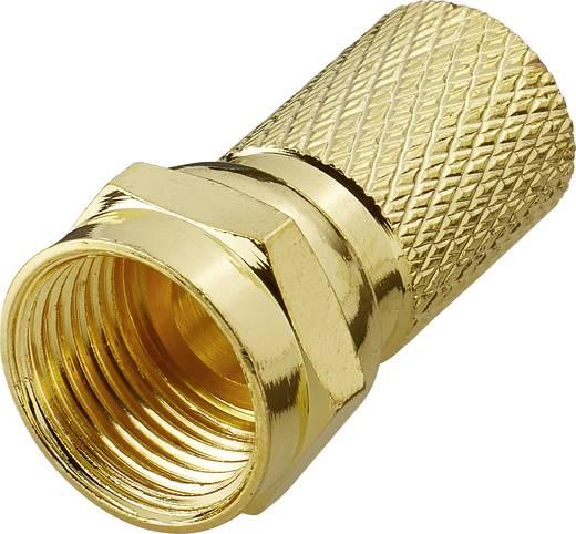 F-Stecker Kabel-Durchmesser: 7.5 mm