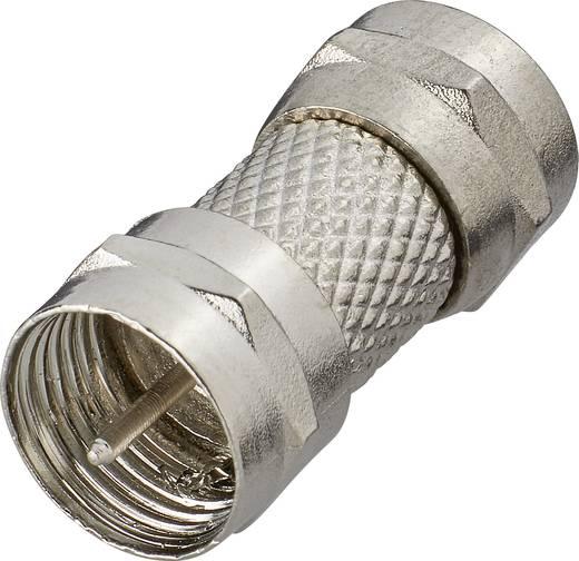 SAT Adapter [F-Stecker - F-Stecker] Silber Renkforce