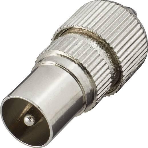 Koax-Stecker-Metall Kabel-Durchmesser: 7 mm