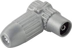 Koaxiální (anténní) úhlová zásuvka Renkforce, litá