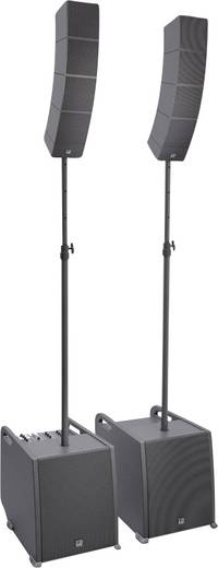 LD Systems CURV 500 PS Aktives PA-Lautsprecher-Set inkl. Distanzstange