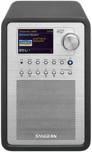 Sangean WFR-70 (SmartLink 1) Internet Tischradio AUX, DAB+, Internetradio, UKW, USB Spotify, DLNA-fähig Grau