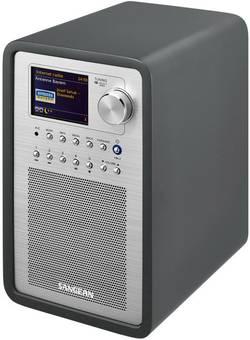 Internetové, DAB+, FM stolní rádio Sangean WFR-70 (SmartLink 1), Wi-Fi, LAN, šedá