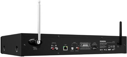Sangean WFT-3 Internet Tischradio DAB+, Internetradio, UKW, USB DLNA-fähig, Spotify Schwarz