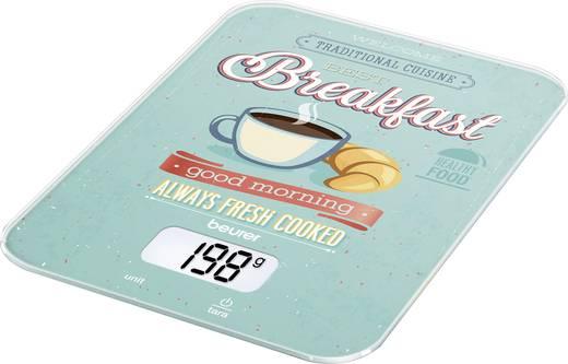 Digitale Küchenwaage digital Beurer KS-19 Breakfast Wägebereich (max.)=5 kg Mint, Bunt