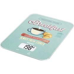 Digitálna digitálna kuchynská váha Beurer KS-19 Breakfast, mätová, farebná
