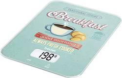 Digitální digitální kuchyňská váha Beurer KS-19 Breakfast, mátová, barevná