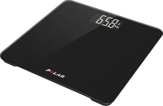Polar Balance Digitale Personenwaage Wägebereich (max.)=180 kg Schwarz