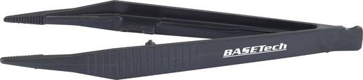 2tlg. Kunststoff Pinzetten-Set 127 mm gerade Basetech