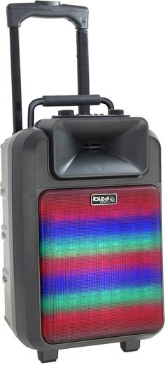 mobiler pa lautsprecher 20 cm 8 zoll ibiza sound power 8 led 1 st. Black Bedroom Furniture Sets. Home Design Ideas