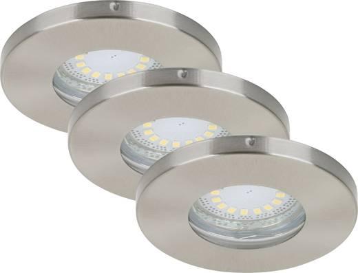 Bad-Einbauleuchte LED GU10 12 W IP44 Briloner Nickel (matt)