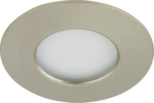 LED-Außeneinbauleuchte 5 W Warm-Weiß Briloner 7234-012 Nickel (matt)