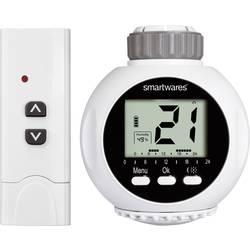 Bezdrátová termostatická hlavice na radiátor s dálk. ovladačem Smartwares SHS-53000