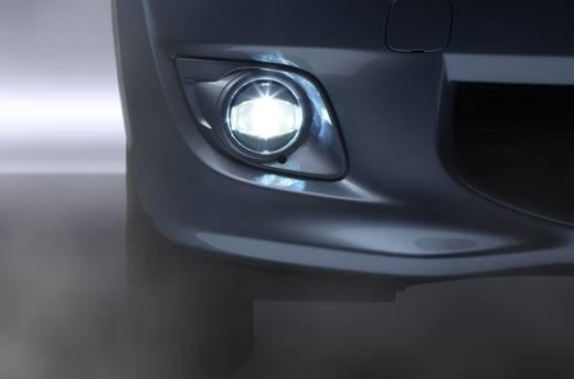 Nebelscheinwerfer, Tagfahrlicht LED Passend für Volkswagen, Nissan, Toyota, Infinity (Ø x H) 90 mm x 90 mm OSRAM LEDFOG1