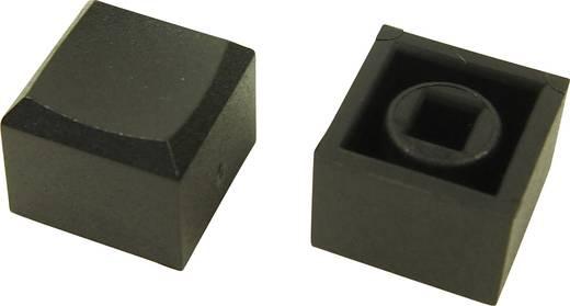 Cliff CP3433 Druckknopf Schwarz (L x B x H) 12.2 x 12.2 x 10 mm 1 St.