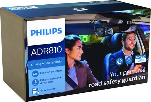 Philips Autokamera ADR810 Dashcam Blickwinkel horizontal max.=156 ° 12 V, 24 V Auffahrwarner, Display, Mikrofon