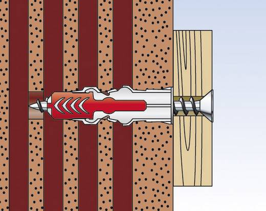 535969 FIXtainer Dübel DUOPOWER mit Schrauben Inhalt 210 Teile