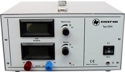 Statron 2224.9 Labornetzgerät, einstellbar 0 - 30 V 0 - 5 A 150 W Anzahl Ausgänge 1 x